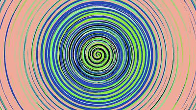 Radical Spiral 19022 Poster