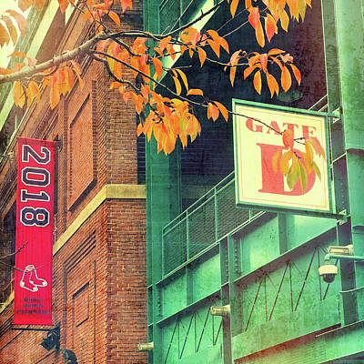 Poster featuring the photograph Red Sox 2018 World Series Champs by Joann Vitali