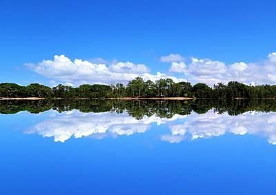 Reflective Lake Patricia Poster