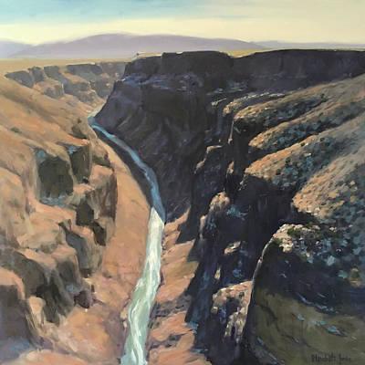 Rio Grande Gorge Poster