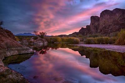 Salt River Sunrise 2 Poster