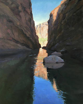 Santa Elena Canyon, Big Bend Poster