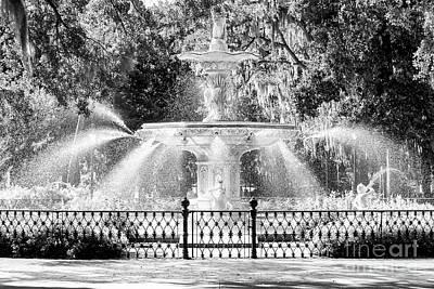 Savannah Forsyth Park Fountain Poster