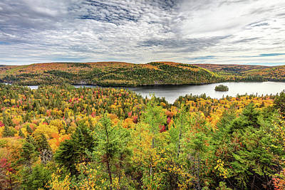 Poster featuring the photograph Scenic Autumn Landscape by Pierre Leclerc Photography