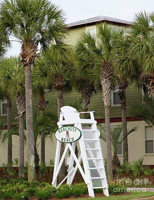 Seacrest Lifeguard Chair Poster