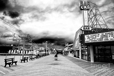 Seaside Heights Before The Crowds Poster