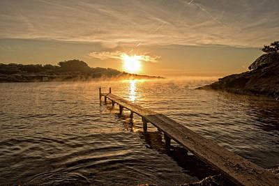 Sespanyol Beach In Ibiza At Sunrise, Balearic Islands Poster
