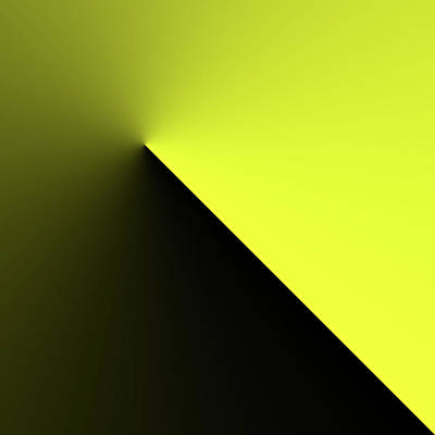 Poster featuring the digital art Shades Of Yellow In Rotational Gradient by Bill Swartwout Fine Art Photography