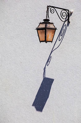 Shadow Lamp Poster