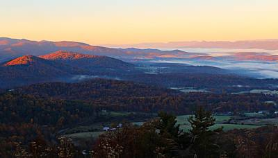 Poster featuring the photograph Shenandoah Mountains by Candice Trimble