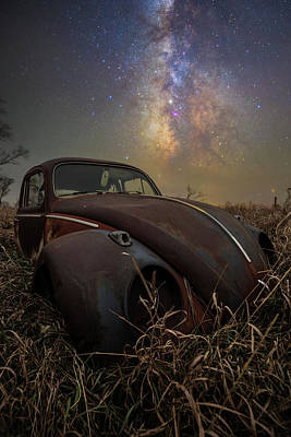 Poster featuring the photograph Slug Bug 'rust' by Aaron J Groen