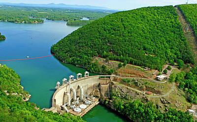 Smith Mountain Lake Dam Poster