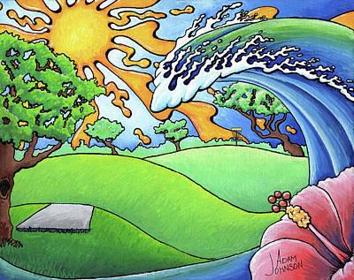 South Texas Disc Golf Poster