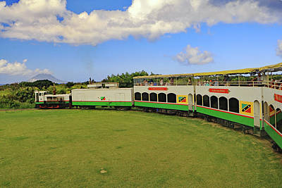 Poster featuring the photograph St Kitts Railway by Tony Murtagh
