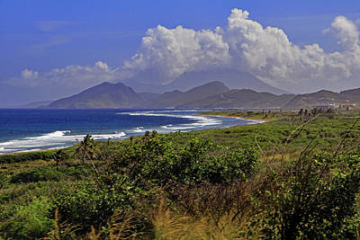 Poster featuring the photograph St Kitts  by Tony Murtagh