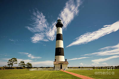 Poster featuring the photograph Standing Proud Bodie Island Lighthouse by Terry Rowe
