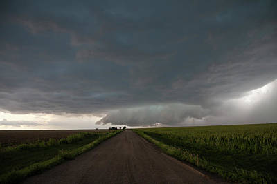 Poster featuring the photograph Storm Chasin In Nader Alley 025 by NebraskaSC