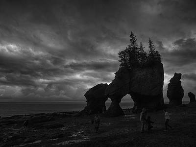 Storm Over Fundy Poster