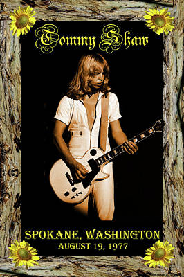 Poster featuring the photograph Styxart In Frame #2 With Text by Ben Upham