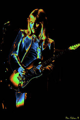 Poster featuring the photograph Styxspo77 #14 Enhanced In Cosmicolors by Ben Upham