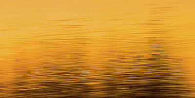 Poster featuring the photograph Sunrise Reflections Abstract by Dan Sproul