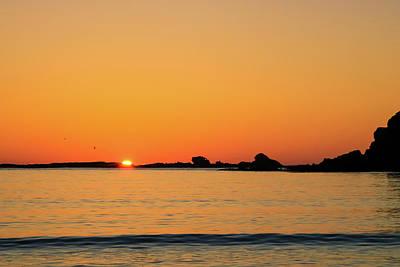 Sunset Over Sunset Bay, Oregon 4 Poster