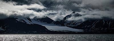 Svalbard Mountains Poster