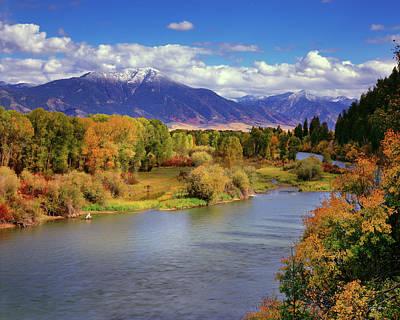 Swan Valley Autumn Poster
