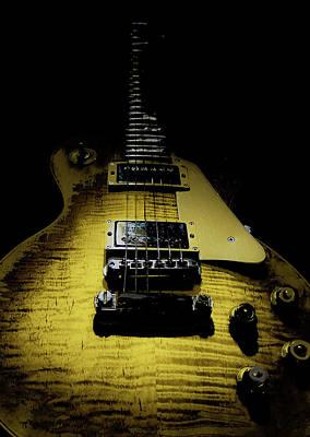 Honest Play Wear Tour Worn Relic Guitar Poster
