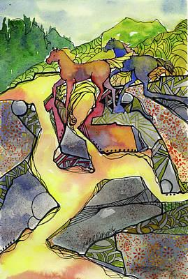 Tevis Ponies Poster