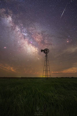 Poster featuring the photograph That's My Kind Of Night  by Aaron J Groen