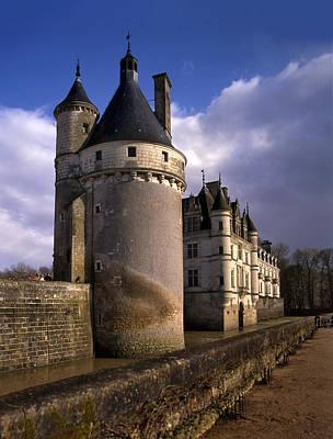 The Chateau De Chenonceau On Loire Poster