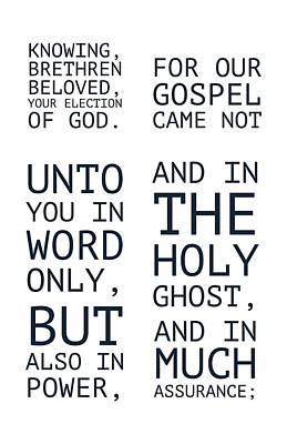 The Cross Speaks Of Jesus Poster