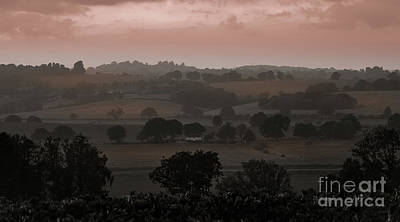 The English Landscape Poster
