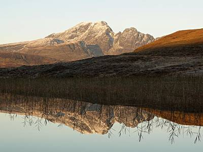 Poster featuring the photograph The First Hint Of Winter At Loch Cill Chriosd by Stephen Taylor