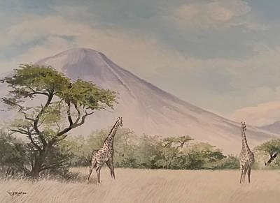 The Giraffe Poster