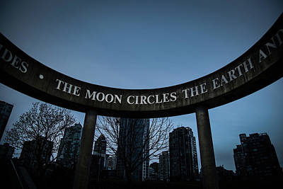 The Moon Circle Poster