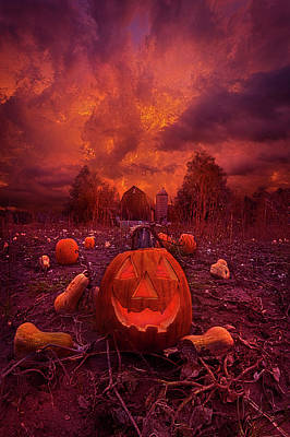 Poster featuring the photograph This Is Halloween by Phil Koch