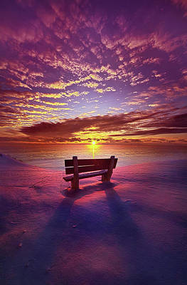 Poster featuring the photograph To Belong To Oneself by Phil Koch