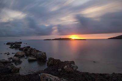 Total Calm In An Ibiza Sunrise Poster