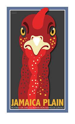 Turkey Stare Jp Poster