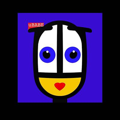Ubabe Blue Poster