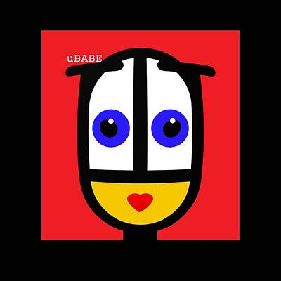 Ubabe Red Poster