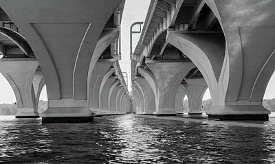 Under The Woodrow Wilson Bridge Poster