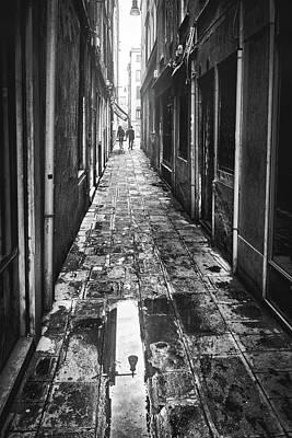 Venetian Alley Poster