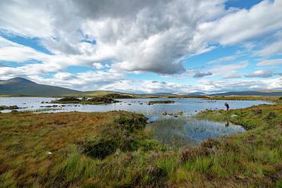 View In Glencoe, Scotland Poster