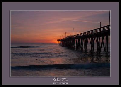 Virginia Beach Sunrise Poster