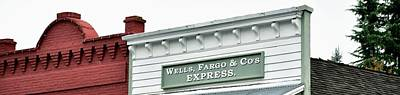 Poster featuring the photograph Wells Fargo by Jerry Sodorff