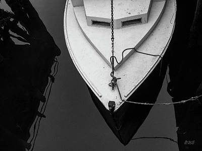 Poster featuring the photograph White Boat Gloucester Ma by David Gordon