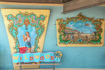 Poster featuring the photograph Wildwood Days 2 by Kristia Adams